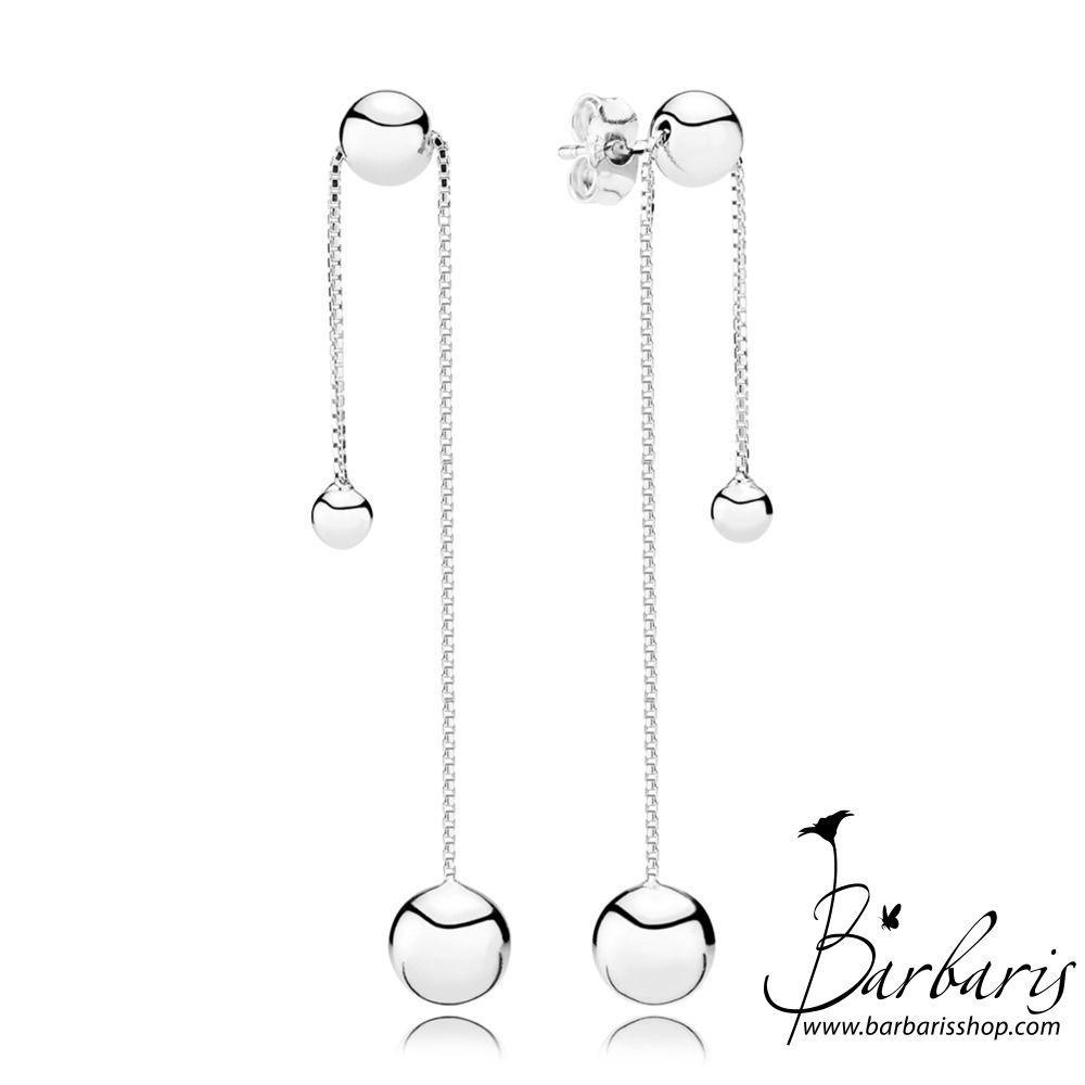 Серебряные серьги «Сферы»