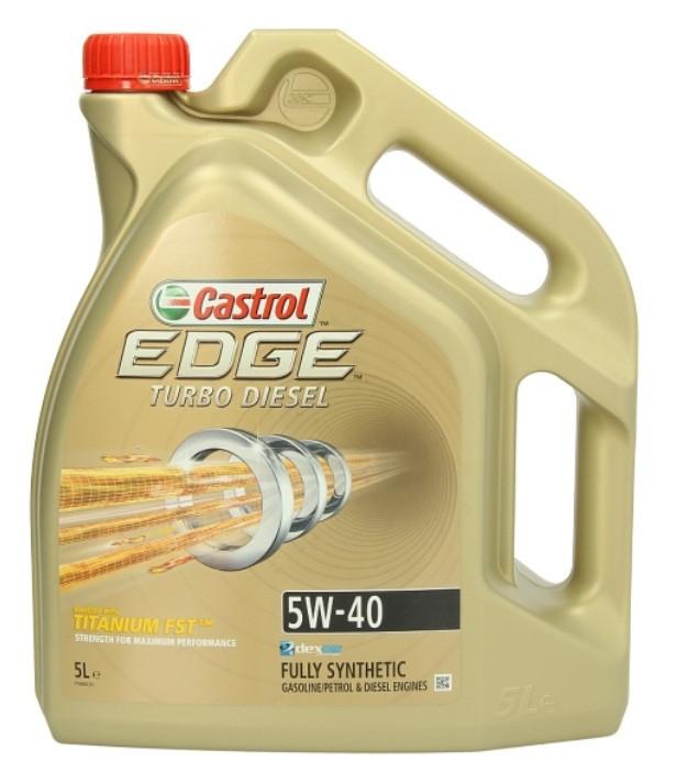 Castrol Edge Turbo Diesel 5W-40 5л