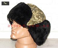 Шапка-ушанка для ВСУ (ГПСУ). Форменная шапка для ВС Украины, Госпогранслужбы, фото 1