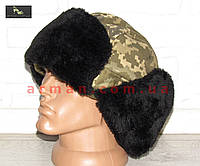 Шапка-ушанка для ВСУ (ГПСУ). Форменная шапка для ВС Украины, Госпогранслужбы