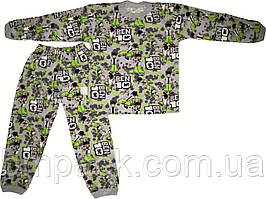 Пижама детская кулир БенТен размер 98-116