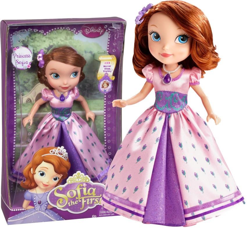 Велика лялька Софія у святковому вбранні DISNEY (Большая кукла София в праздничном наряде)