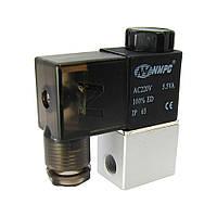 Пневматический электромагнитный клапан  3V1-06, давление 0-1 MPa, AC-220V
