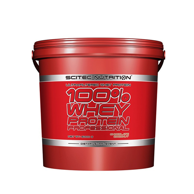 Scitec Nutrition 100% Whey Protein Professional 5000 г