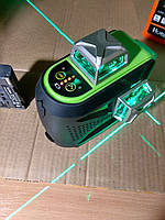 Лазерный уровень Huepar 3D бирюзовый луч+ СУПЕРКОМПЛЕКТАЦИЯ!!!, фото 1