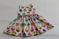 """Летнее платье на девочку """"Сладкий кекс """""""
