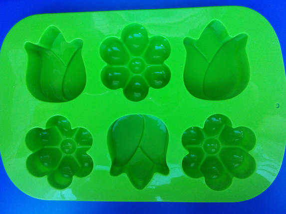 Форма силиконовая  Цветочное асорти, фото 2
