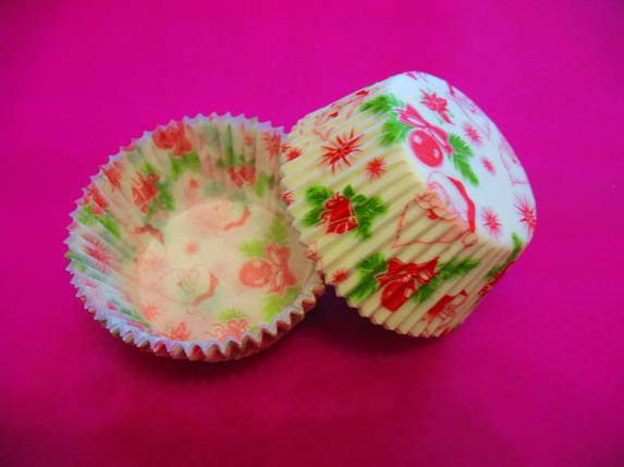 Капсулы для кексов Дед Мороз, фото 2
