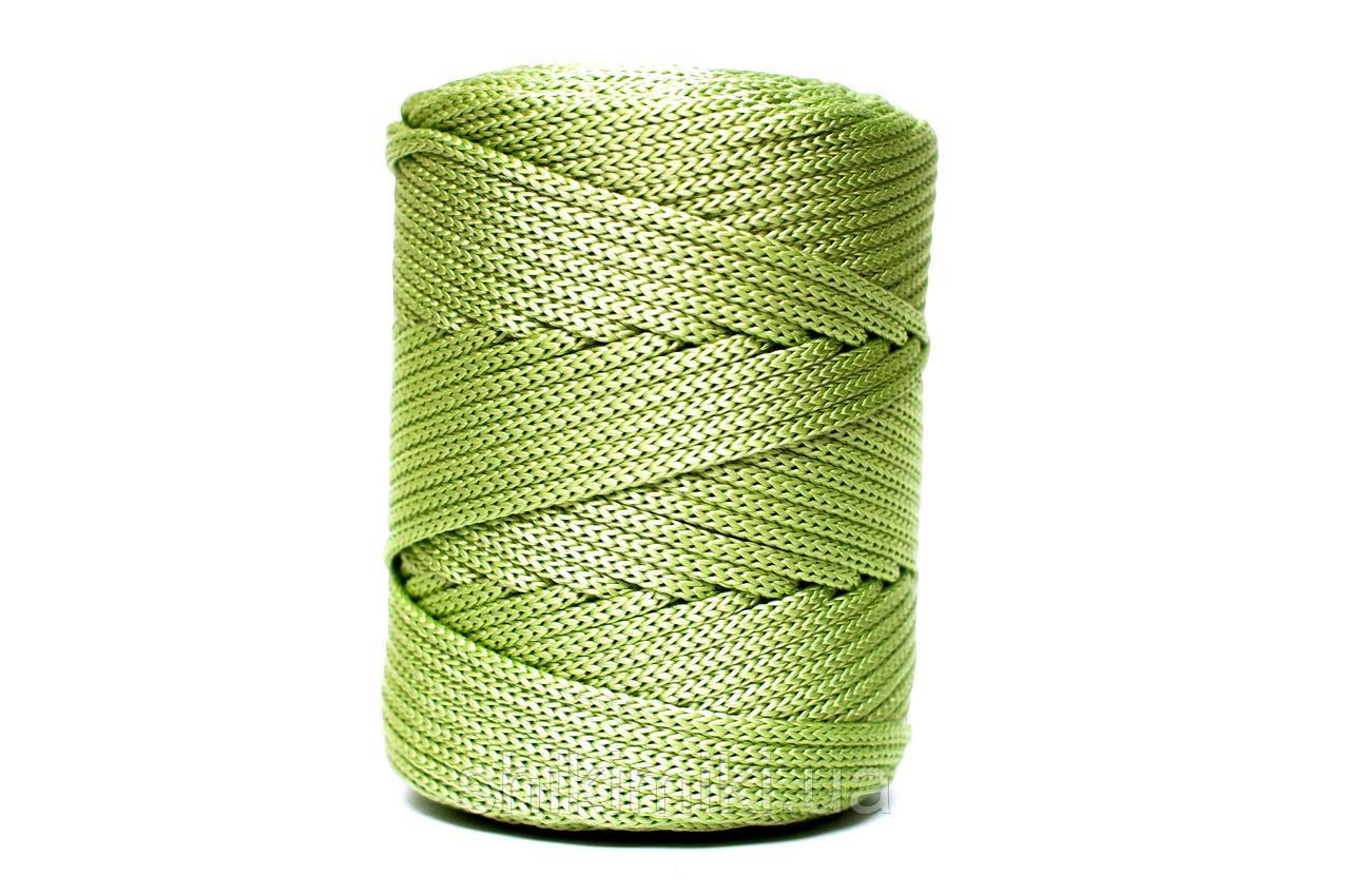 Трикотажный полипропиленовый шнур PP Cord 5 mm, цвет Салатовый