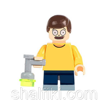 """Морти (Рик и Морти)"" фигурка совместимая с Лего"