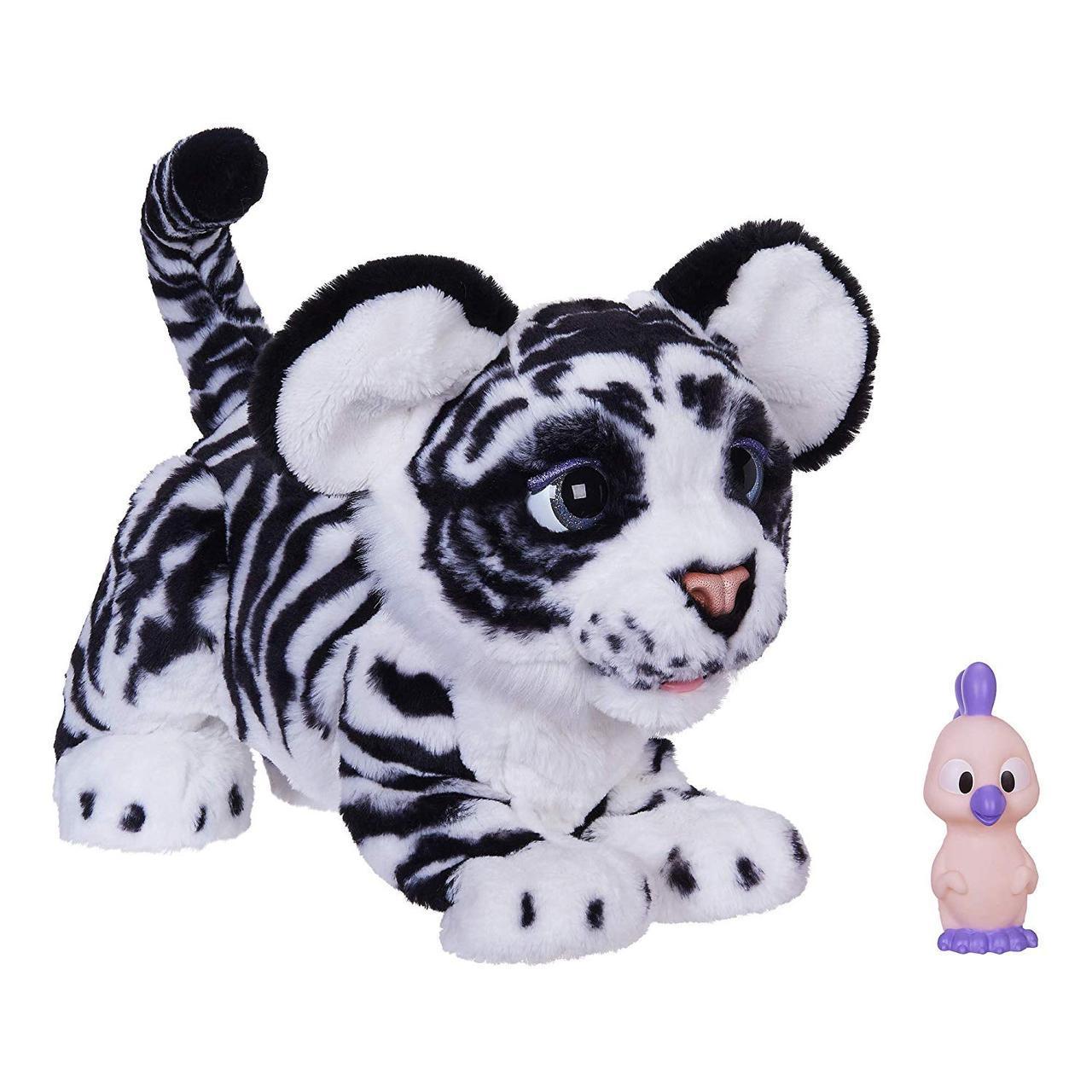 Интерактивная игрушка Белая Тигрица Айвори Новая Подружка Тигренок Тайлера furReal Tiger Hasbro Белый Амурчик