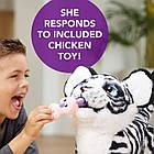 Интерактивная игрушка Белая Тигрица Айвори Новая Подружка Тигренок Тайлера furReal Tiger Hasbro Белый Амурчик, фото 3