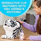 Интерактивная игрушка Белая Тигрица Айвори Новая Подружка Тигренок Тайлера furReal Tiger Hasbro Белый Амурчик, фото 4