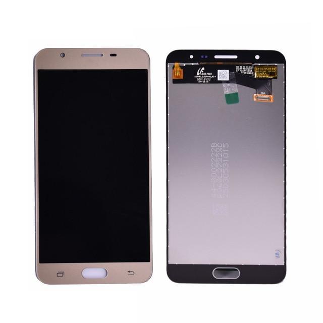 Дисплей (LCD) Samsung GH-11543A G611F J7 PRIME 2 2018 с сенсором Brown Gold сервисный