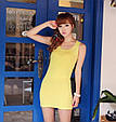 Платье майка туника Рretty желтая, фото 3