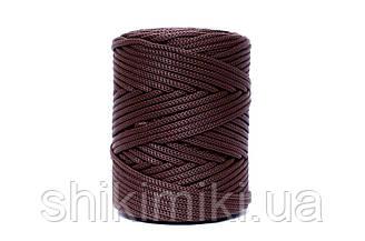 Полипропиленовый шнур PP Cord 5 mm, цвет Шоколад