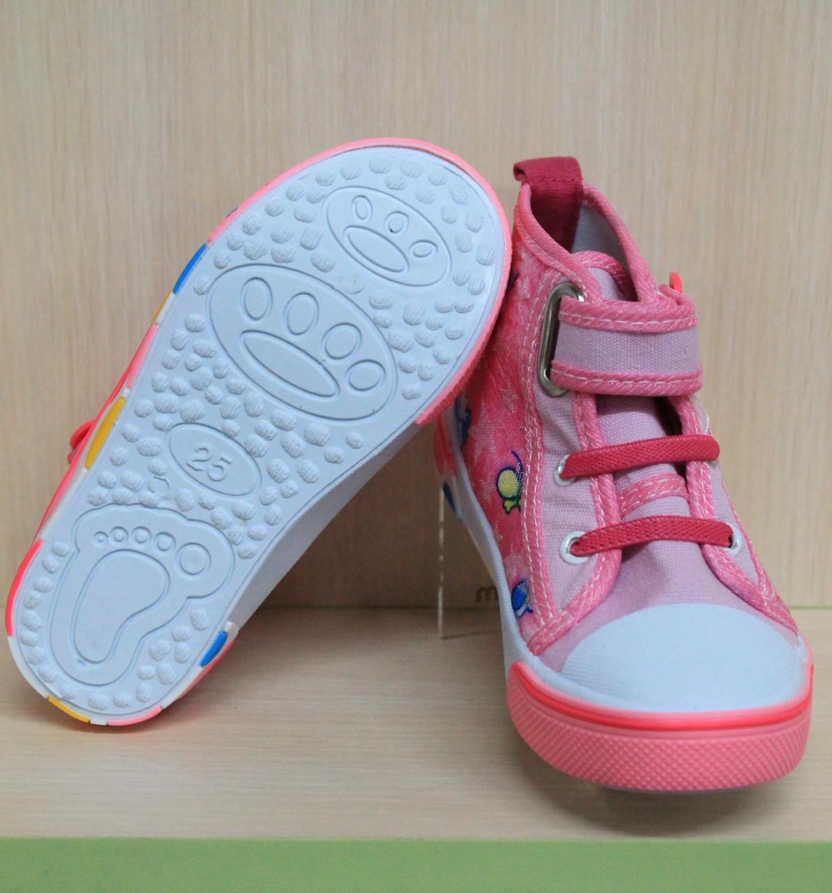 5d9938e546a2 Купить Детские кеды на девочку, текстильная обувь, высокие кеды р.29 ...