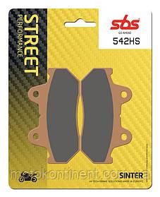 Мото колодки SBS 542HS синтетика HONDA CBR / Steed VT 800/Magna VF 750-1000. Honda cb/Honda GL...