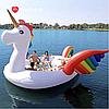 Modarina Мега - остров Радужный Единорог с разноцветными крыльями 250 см