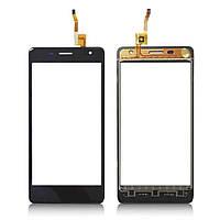 Сенсорный экран (тачскрин) Oukitel K4000 черный