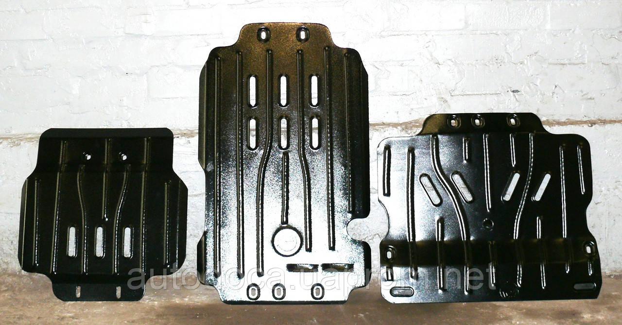 Защита радиатора и картера двигателя, кпп, ркпп Nissan NP300 с установкой! Киев