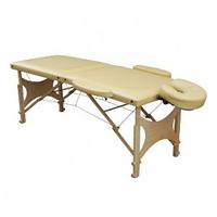 Складной массажный стол ПЧЕЛКА 61 или 65 двухсекционный деревянный, Стол массажный ПЧЕЛКА