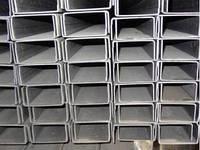 Швеллер стальной Ст 3пс №6,5, 8, 10, 12, 14, 16, 18, 20, 22, 24, 27, 30