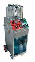 Устройство для обслуживания тормозной системы и усилителя рулевого привода с тележкой. 03.036.05 TWIN SERVICE