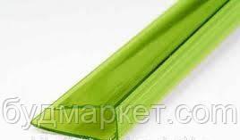 Профиль торцевой NOVATTRO пластиковый UP 10*2100мм (зеленый)