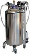 Пневматическая установка на 90 л для отбора топлива (бензин или дизель) из бака автомобиля 03.036.01 Spin Италия