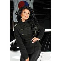 Женское стильное короткое пальто , фото 1