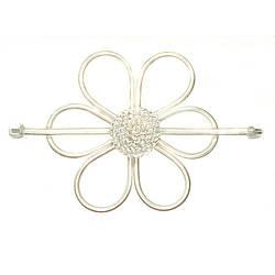 Заколка Плетёный цветок Garden 536181
