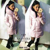 Куртка женская зимняя на синтепоне, цвет- черный, розовый, оливка, фото 1