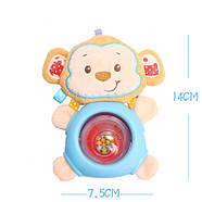 Игрушка - погремушка Обезьянка Happy Monkey, фото 4