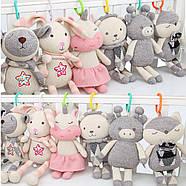 Мягкая игрушка - подвеска Поросенок BBSKY, фото 7