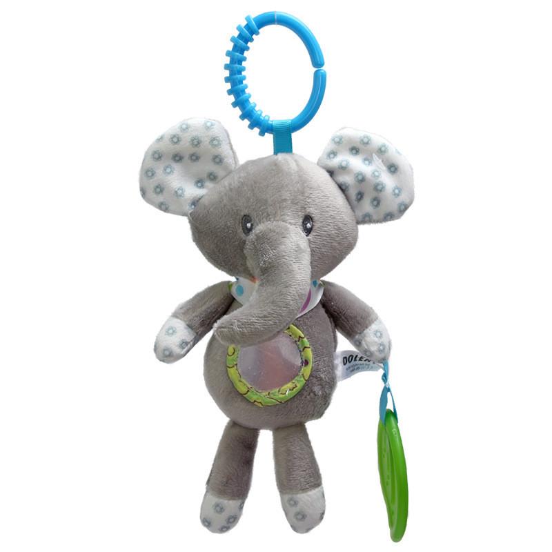 Мягкая игрушка - подвеска Слоник Dolery