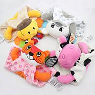 Мягкая игрушка с прорезывателем Лиса Dolery, фото 2