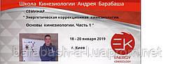 22 - 24 ноября Киев. Энергетическая коррекционная кинезиология. №1 Основы