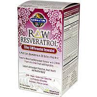Ресвератрол (Resveratrol), Garden of Life, 350 мг, 60 капсул