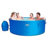 Надувной бассейн-джакузи BestWay 54113 Lay-Z-SPA Monaco с гидромассажной системой 2в1 и с панелью