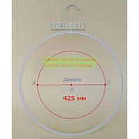 Круг для Трусов  Пластик белый  43 см Украина 65 шт.
