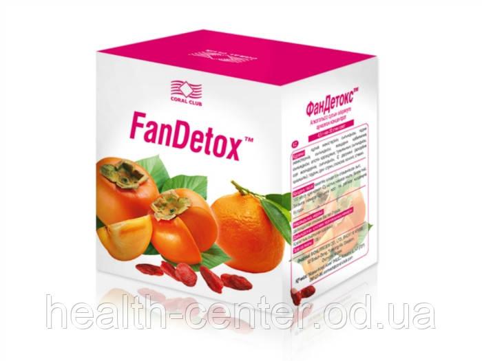 ФанДетокс 30 шт очищение восстановление печени снятие похмельного синдрома USA
