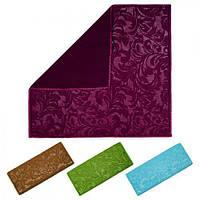 """Коврик для мокрой посуды """"Восток"""" R17201 разные цвета, 30*40см, полиэстер, коврики для ванной, коврик в ванную, коврик для туалета"""