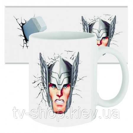 Чашка супергерой Тор