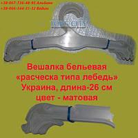 Плечики Вешалки  для  Нижнего  Белья  Расческа  прозрачная см 26   Украина