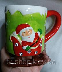 Чашка Сани Новий рік (4 види)
