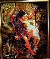 Картина из янтаря Панно влюблённых.