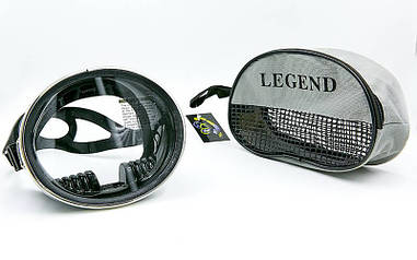 Маска для плавания Legend M102-SIL
