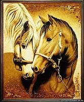 Картина из янтаря. Панно 7