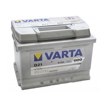 Акумулятор VARTA 61Ач Silver Dynamic D21 (0)